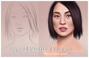 Speed Portrait Video by RaSen