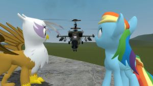 the crazy that is Gmod with ponies by Sandwich-Anomaly
