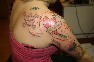 poison heart by SimplyTattoo