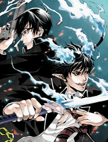 Ao No Exorcist by juhaihai