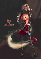 002 M/F Dungeon Fighter Female Gunner by tsaileehua