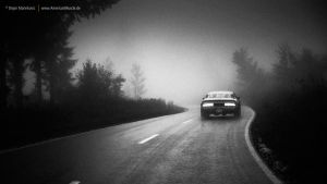 foggy road by AmericanMuscle