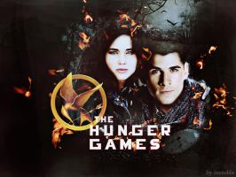 the hunger games by izzzolda