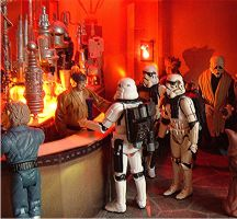 Star Wars Cantina Sandtroopers by GalerieMoreau
