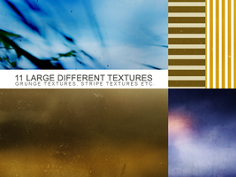 11 different textures by Kiho-chan