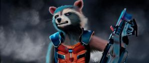 Rocket Raccoon by gabiFaveri