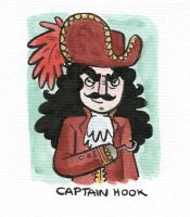 Villain 31 Captain Hook by TRAVALE