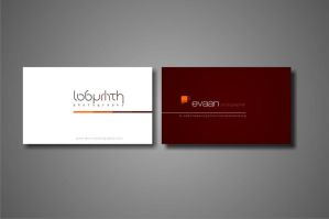 business card labyrinth by phonkdumbass