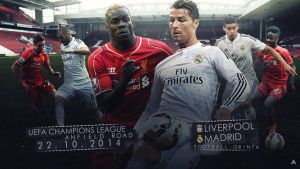UEFA Champions League: Liverpool v Real Madrid by AlbertGFX