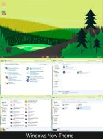 Windows Now Screenshots(Windows8 Theme 4 windows7) by jonptr