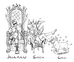 We Sit on our Thrones by LadyLanguid