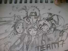 New Team 7 by SakuraHaruno178