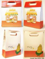 Packaging Mr. Arepa Combo Bag by hktomoe