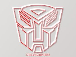 Autobot Wallpaper by nathanwainwright