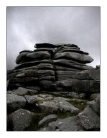 Rough Tor Rocks by whickeringwolf