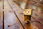 Little danbo out for a walk by LadySleepsAlot