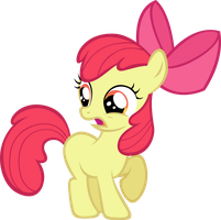 Apple Bloom Gasp by LilCinnamon