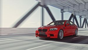 BMW M5 2012 | Alpina Dynamic | EverBridge by DuronDesign