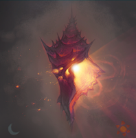 Fire Lighthouse - The False Sun of Insulla by Astral-Requin