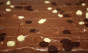 Chocolate Chip Fudge by claremanson
