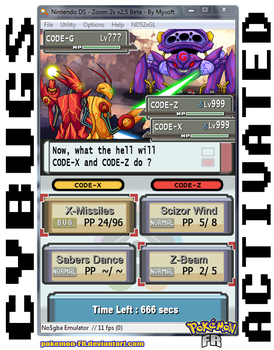 Pokemon Platinum - Cybugs Activated by Pokemon-FR