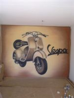 vespa by elbearone