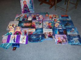 My Frozen Merchandise by HAFanForever