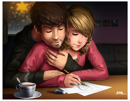 What are you drawing, baby? by MLeth