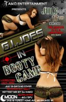 GI JOES IN BOOTY CAMP FLYER by tinachang89
