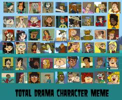 Total Drama Favorite Characters Meme - Updated by SoulExecution
