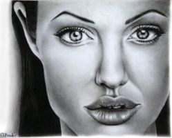 ANGELina JOLie by aestaq