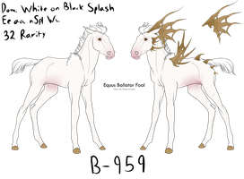 B-959 EB Foal for ToxicCreed *DESIGN HOLDER* by 11IceDragon11