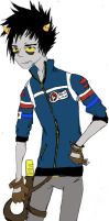 karkat as party poison by Joey-of-Suburbia