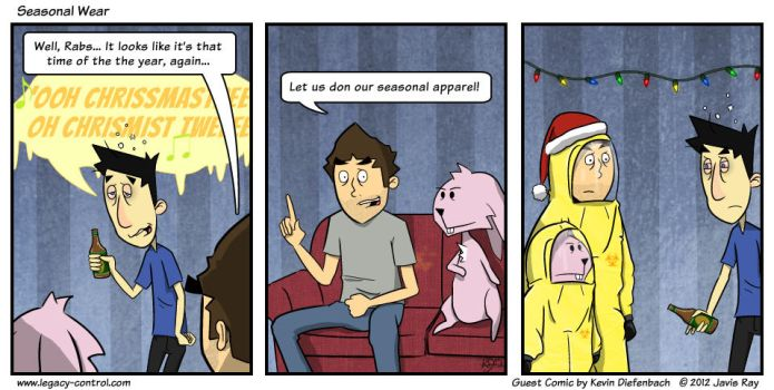 Legacy Control Holiday 2012 Guest Comic by Wrecklaimer