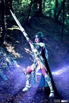 Tyrande Whisperwind Cosplay - Heroes of the Storm by IssabelCosplay