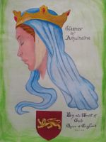 Queen Eleanor of Aquitaine by killerbeechris