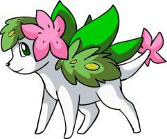 SKY FORM SHAYMIN IS A FAKE by nyausi