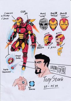 Iron-Man Redesign by Julalesss