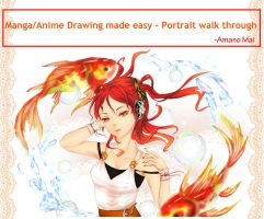(Beginner)-Manga/Anime portrait tutorial by Amano-M