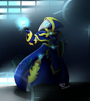 The Mage by Straycatz90