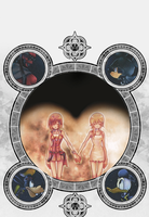 Kingdom hearts Circle by DreamingKH