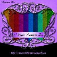 10 Papers Ornament Free by weezya