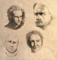 Faces of Connor MacLeod by Reymonkey