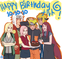 HBD Naru 101010 by starchiishio