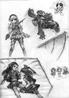fanart sketches by ErMaoWu