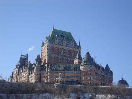 Le Chateau Frontenac by Renee-Steinway