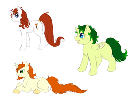 +here have some ponies+ by min-mew