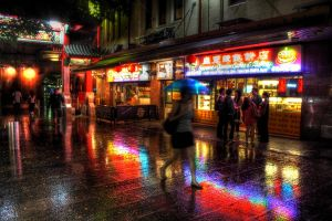 Chinatown, after the rain.... by riccardo-avocado