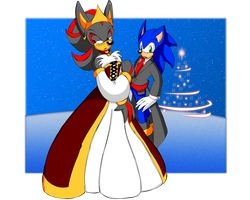 Sonadow Holiday Wallpaper by SonicRemix