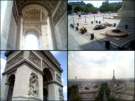 Arc de Triomphe by x-silverwings-x